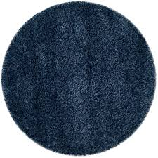 safavieh california navy 4 ft x 4 ft round area rug