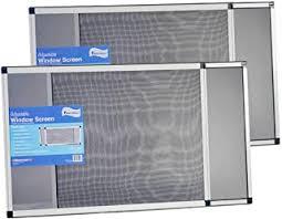 Screens Black Multi Size Adjustable <b>Window</b> Netting Mesh Curtain ...