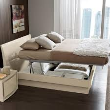 image of stylish small bedroom storage ideas