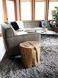 How to Make a Pottery Barn Reclaimed Wood Stump Table
