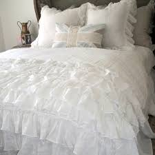 lily ruffle duvet cover