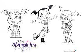 Best Nice Ideas Vampirina Coloring Pages 10 Printable Disney