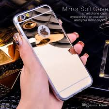 mirror iphone 7 plus case. cool iphone7 case luxury bling mirror soft clear tpu girl cases cover for iphone 7 plus 6s 6 5s 5 4s samsung galaxy note s7 s6 edge s5 s4 g530 unique d