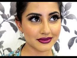 a makeup tutorial perfect for a party or if you are a guest at an indian stani or asian wedding