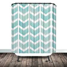 gallery pictures for chevron shower curtain white