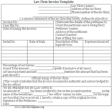 Adobe And Word Doc Legal Invoice Template Strand Dna Replication