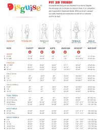 Disguise Size Chart Amazon Com Customer Questions Answers