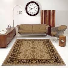 cream brown oriental area rug