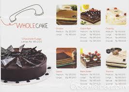 Breadtalk Menu Bakery Cake In Senen Jakarta
