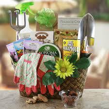 potters pion gardening gift basket