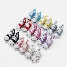 7 Đôi Phối Các Loại 5 Cm Giày Vải Dành Cho Búp Bê BJD Thời Trang Mini Đồ  Chơi Giày Sneaker Búp Bê BJD Giày búp Bê Nga Phụ Kiện|doll shoes