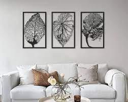 large metal wall art set of 3 oversized
