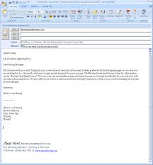 How Email A Resume Issue Depict Example Cover Letter Message