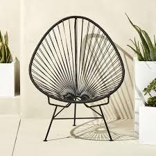 furniture cb2. Sensational Idea Cb2 Outdoor Furniture Black Acapulco Chair CB2
