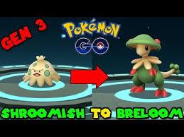 Shroomish Evolution Chart Evolve Shroomish Pokemon Go
