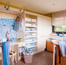 laundry room office design blue wall. Tú También Puedes Tener El Planchador Perfecto. Laundry RoomsRemodeling IdeasInteriorIdeas Room Office Design Blue Wall S