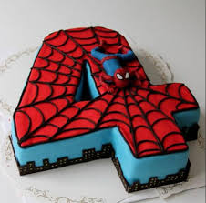 Spiderman Birthday Cake 3kg Chocolate Rs 4899 Pack Funs And Patls