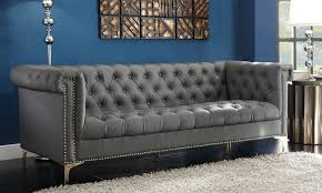 tufted furniture trend. Contemporary Trend Winston Modern Tufted Sofa Groupon Goods With Regard To Design 6 Intended Furniture Trend