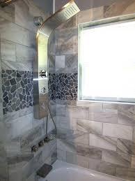 faux tile shower wall panels stone shower walls grey stone mosaic tile shower wall accent faux faux tile shower