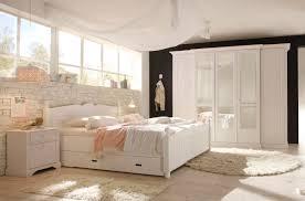 Cinderella Premium Schlafzimmer 5 Tlg Kiefer Weiss