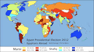 egypt in the world the expat presidential electoral map eric schewe Map Of The World Egypt Map Of The World Egypt #20 map of the world with egypt located