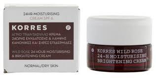 <b>KORRES</b> Wild Rose 24-H Moisturising Brightening <b>Cream</b> ...