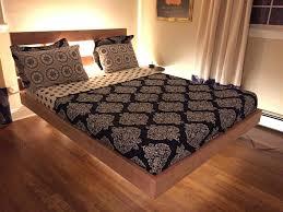 diy bed frame design ideas floating platform diy