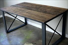 industrial metal and wood furniture. Rustic Industrial Metal And Wood Furniture M