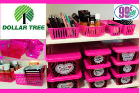 $1 Makeup Organization & Storage Ideas | Dollar Tree & 99 Cents Only
