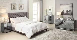 Modern Mirrored Bedroom Furniture