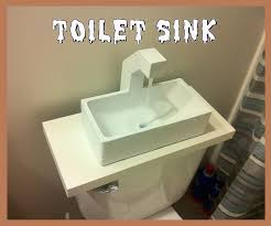 Toilet With Sink Attached Save A Little Water With A 3d Printed Toilet Sink 9 Steps