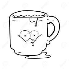 office mug. Cartoon Dirty Office Mug Stock Vector - 94844512