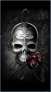 Rose - HD - Skull Wallpaper Iphone 6 ...