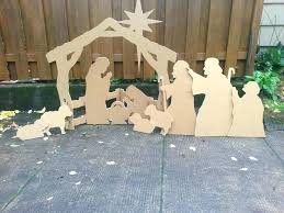outdoor nativity stable outdoor wooden nativity set per homemade outdoor nativity scene wooden stable for outdoor