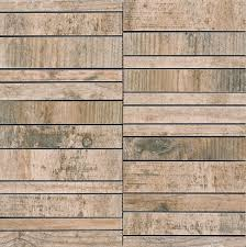 these precisely cut rectified tiles can be laid in varying widths to increase the recycled wood effect from the shabby style collection