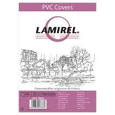 <b>Обложки Lamirel Transparent A4</b>, PVC, прозрачные, 200мкм ...