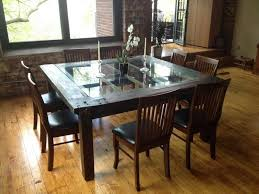 unique dining room furniture. cool dining room table enchanting of unique wooden for wood glass tables furniture
