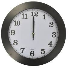 rammento large 35cm round wall clock