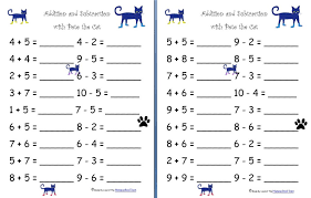Free Printable Math Worksheets For Kindergarten Addition And ...