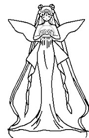 Neo Queen Serenity Coloring Pages 2019 Open Coloring Pages