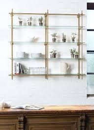 kitchen glass shelves design open kitchen shelves using our collectors shelving system with glass shelves the kitchen glass shelves design