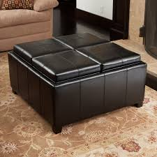 best selling home decor dartmouth  sectioned bonded leather cube