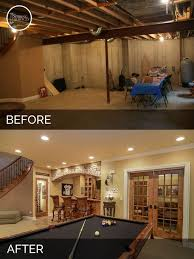 basement remodels before and after. Basement Remodeling Ideas Before And After Remodels