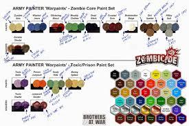 Minitaire Paint Conversion Chart Article Discussion Paint Range Compatibility Chart Forum
