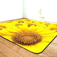sunflower rug kitchen rugs innovative red runner pottery barn for sunflower rug