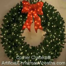 large outdoor wreaths wreath with lights amazing ideas lighted cordless large outdoor wreaths
