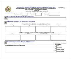 Illinois Preschool Lesson Plan Template Isbe Danielson Framework ...