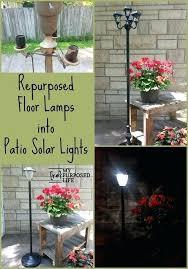 patio solar lights australia. solar garden light post model 94069 my repurposed life turn floor lamps into patio lights using australia s