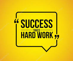 Success Takes Hard Work Quote Stock Photo Alexmillos 93875518