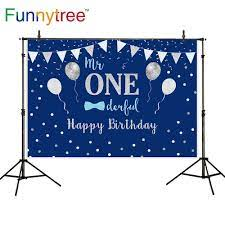 Funnytree backdrops photocall Blue ...